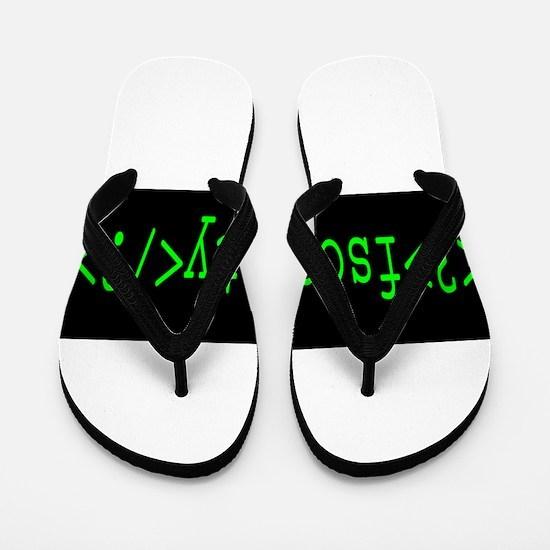 F_Society Flip Flops