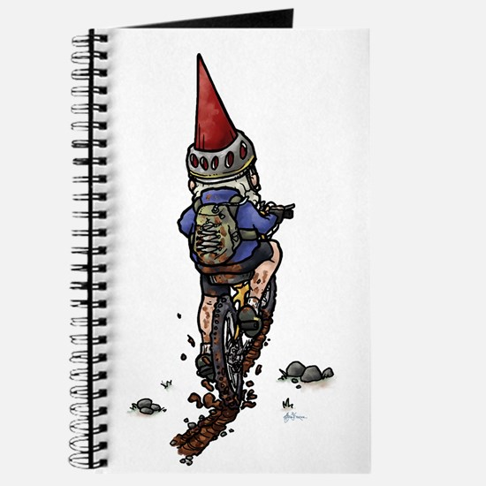 Dirty Little Mountain Biker Gnome Journal