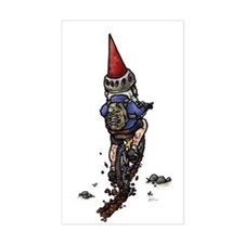 Dirty Little Mountain Biker Gnome Decal