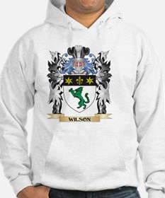 Wilson Coat of Arms - Family Cre Hoodie