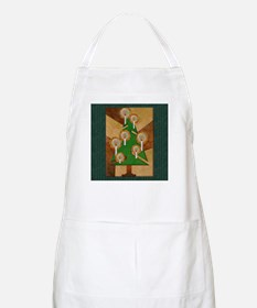 Harvest Moons Cubist Tree Apron