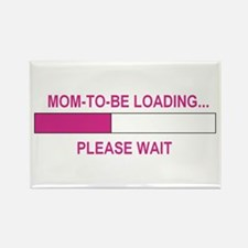 MOM-TO-BE LOADING Rectangle Magnet