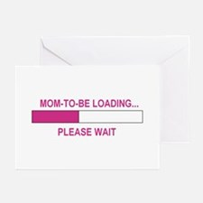 MOM-TO-BE LOADING Greeting Cards (Pk of 10)