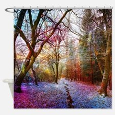 Funny Enchanted Shower Curtain