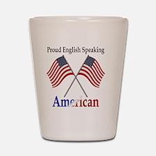Cute Speak english Shot Glass