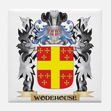 Wodehouse Coat of Arms - Family Crest Tile Coaster