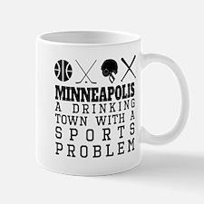 Minneapolis Drinking Town Sports Problem Mugs