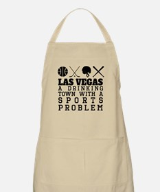 Las Vegas Drinking Town Sports Problem Apron