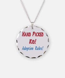 Cute Adopted daughter Necklace