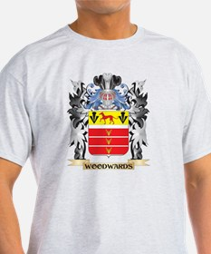 Woodwards Coat of Arms - Family Cres T-Shirt