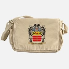 Woodwards Coat of Arms - Family Cres Messenger Bag