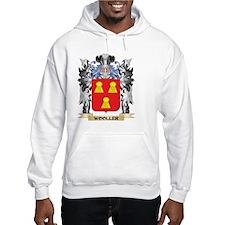 Wooller Coat of Arms - Family Cr Hoodie