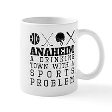 Anaheim Drinking Town Sports Problem Mugs