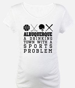 Albuquerque Drinking Town Sports Problem Shirt