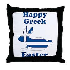 Greek Easter Throw Pillow