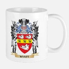 Wyatt Coat of Arms - Family Crest Mugs