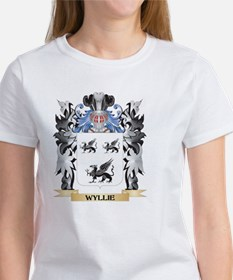 Wyllie Coat of Arms - Family Cres T-Shirt