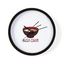 Miso Cute Wall Clock