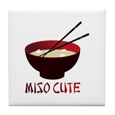 Miso Cute Tile Coaster