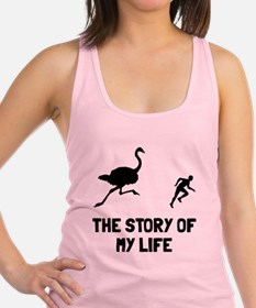 Story of my life Racerback Tank Top