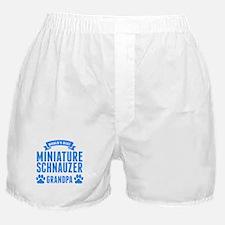 Worlds Best Miniature Schnauzer Grandpa Boxer Shor