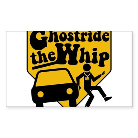 GhostRide The Whip Rectangle Sticker