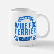 Worlds Best Wire Fox Terrier Grandpa Mugs