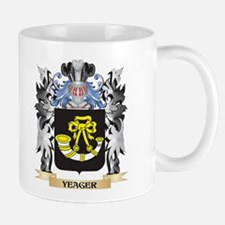 Yeager Coat of Arms - Family Crest Mugs
