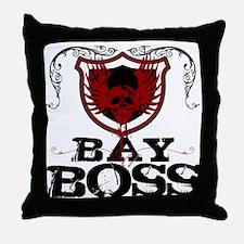 Bay Bo$$ Throw Pillow