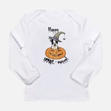 Unique Halloween dogs Long Sleeve Infant T-Shirt
