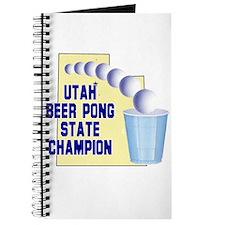 Utah Beer Pong State Champion Journal
