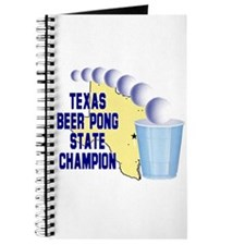 Texas Beer Pong State Champio Journal
