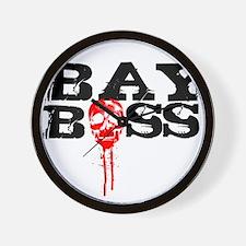 Bay Bo$$ 2 Wall Clock