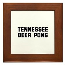 Tennessee Beer Pong Framed Tile