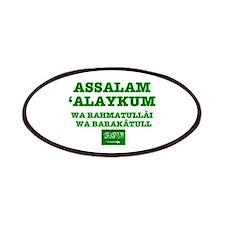 ARAB GREETING - ASSALAM ALAYKUM Patch