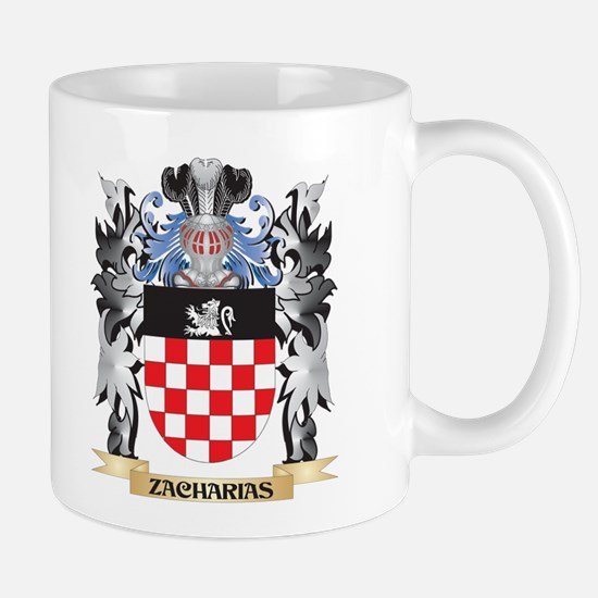 Zacharias Coat of Arms - Family Crest Mugs
