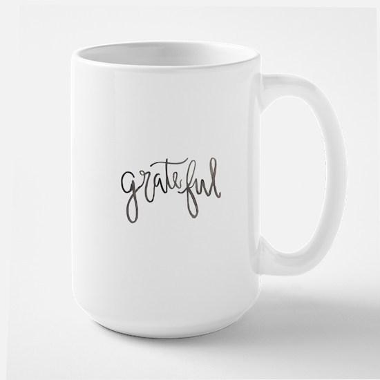 Grateful Large Mug
