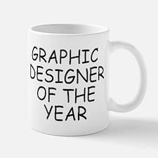 Graphic Designer of the Year Mugs