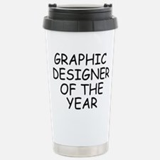 Graphic Designer of the Stainless Steel Travel Mug