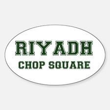 RIYADH- CHOP SQUARE Decal