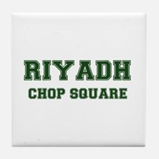 RIYADH- CHOP SQUARE Tile Coaster