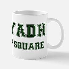 RIYADH- CHOP SQUARE Mugs