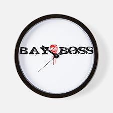 Bay Bo$$ 3 Wall Clock