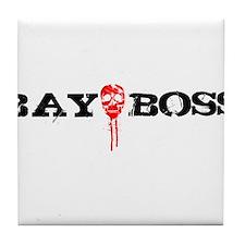 Bay Bo$$ 3 Tile Coaster