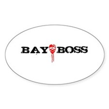Bay Bo$$ 3 Oval Decal