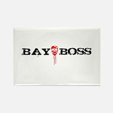 Bay Bo$$ 3 Rectangle Magnet