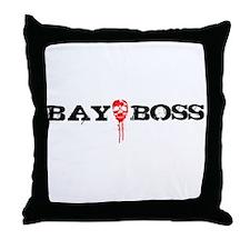 Bay Bo$$ 3 Throw Pillow
