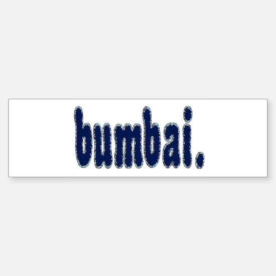 Bumper Bumper Bumper Sticker