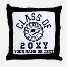 Class of 20?? Throw Pillow