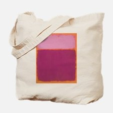 ROTHKO PINK RASBERRY AND ORANGE Tote Bag